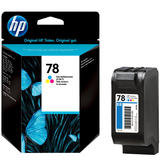HP 78 C6578D C6578DN Original Tri-color Ink Cartridge