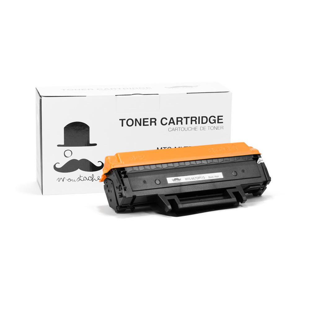Samsung MLT-D111S Compatible Black Toner Cartridge - Moustache®