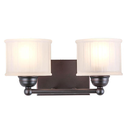 Wall Sconces With Drum Shade : Drum Shade Black Painting 2 Light Wall Lamp Traditional Style at LightingBox.com Canada