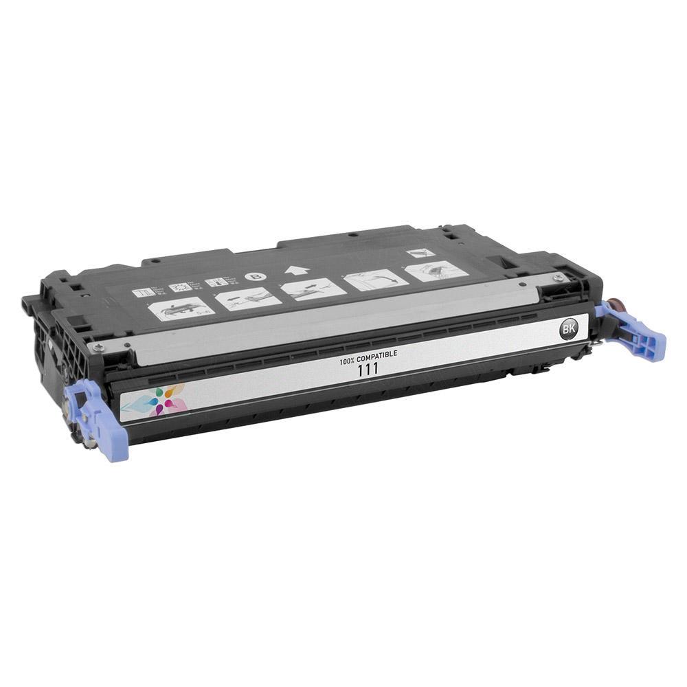 Canon 111BK 1660B008 1660B001AA Compatible Black Toner Cartridge