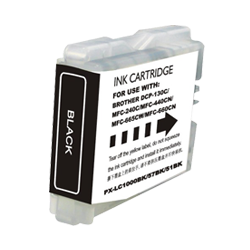 Brother LC51BK Compatible Black Ink Cartridge - Economical Box