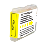 Brother LC51Y Compatible Yellow Ink Cartridge - Economical Box