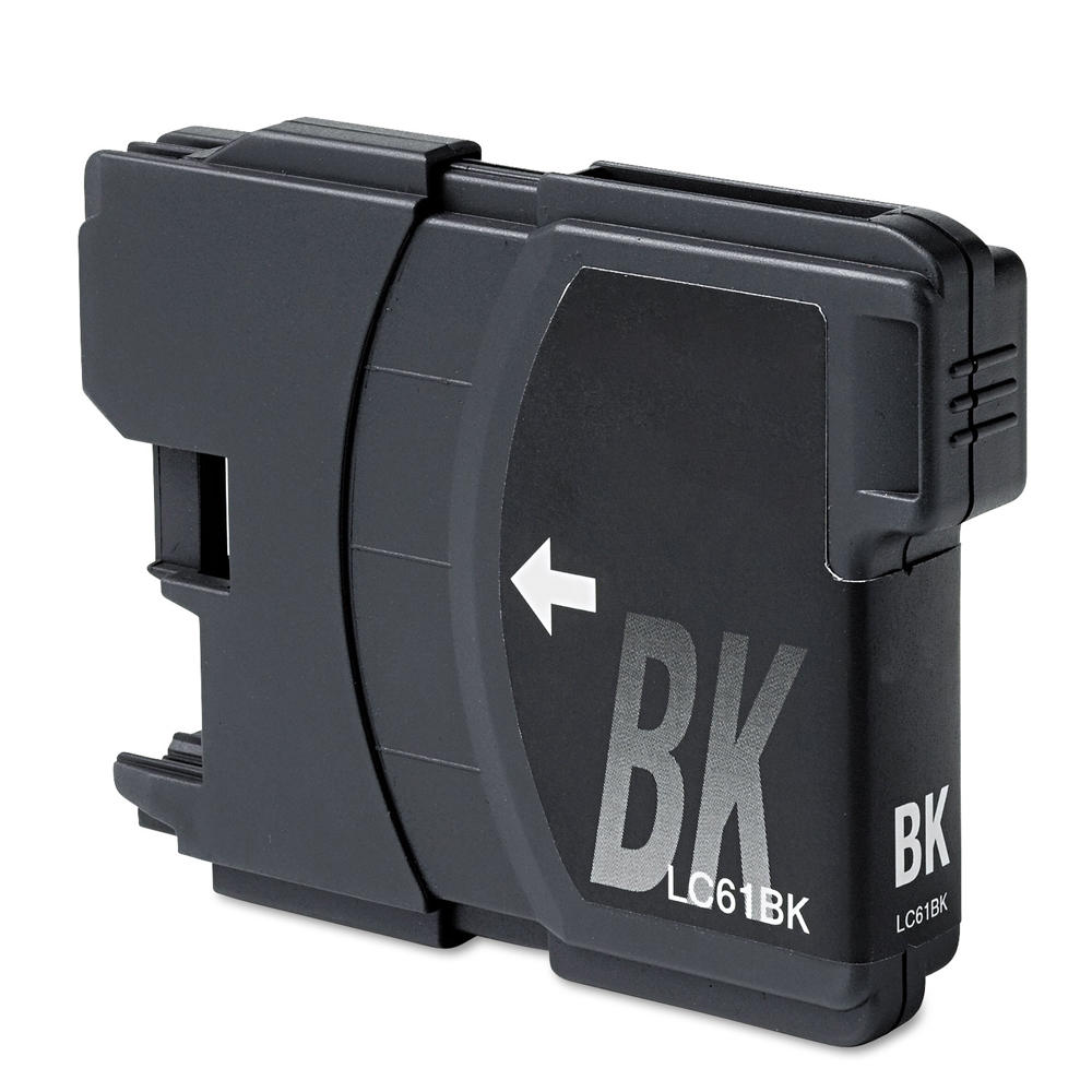 Brother LC61BK New Compatible Black Ink Cartridge - Economical Box