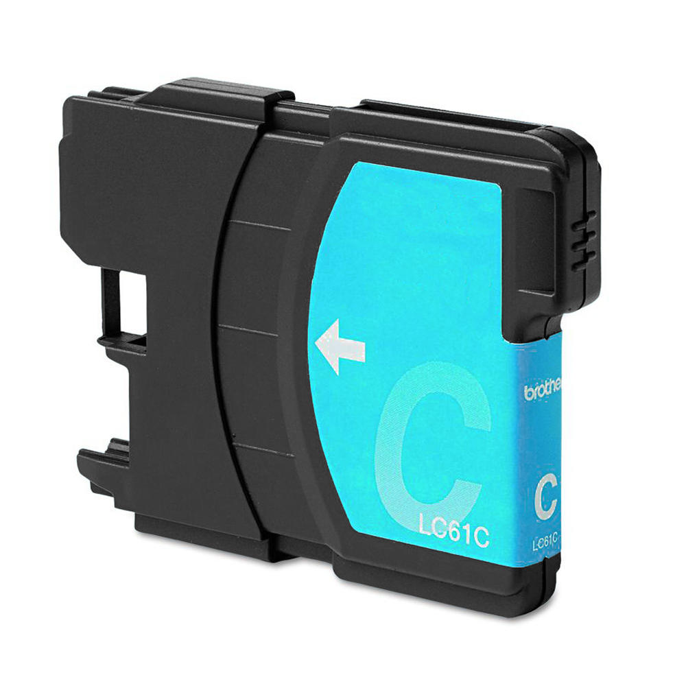 Brother LC61C New Compatible Cyan Ink Cartridge - Economical Box