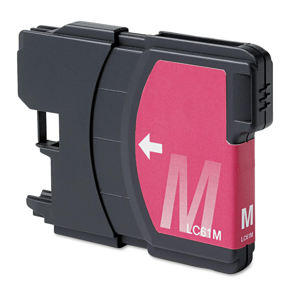 Brother LC61M New Compatible Magenta Ink Cartridge - Economical Box