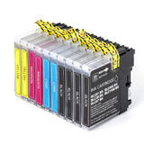 Brother LC61 Compatible Ink Cartridge Combo BK/C/M/Y - 10/Pack