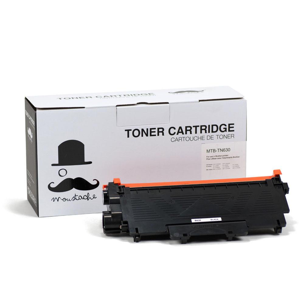 Brother TN-630 Compatible Black Toner Cartridge - Moustache®