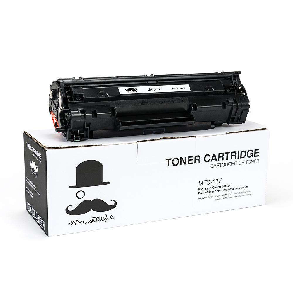 Canon 137 9435B001 Compatible Black Toner Cartridge - Moustache®