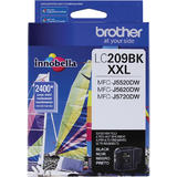 Brother LC209BK Original Black Ink Cartridge Extra High Yield