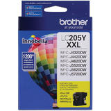 Brother LC205Y Original Yellow Ink Cartridge Extra High Yield