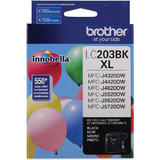 Brother LC203BK Original Black Ink Cartridge High Yield