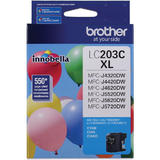 Brother LC203C Original Cyan Ink Cartridge High Yield