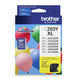 Brother LC203Y Original Yellow Ink Cartridge High Yield