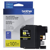 Brother LC101Y Original Yellow Ink Cartridge