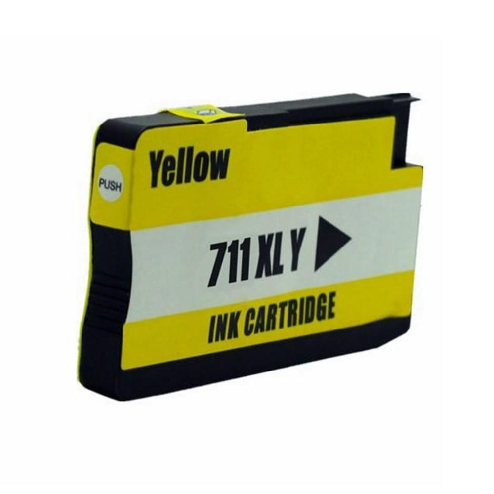 Remanufactured HP 711 CZ132A Yellow Ink Cartridge