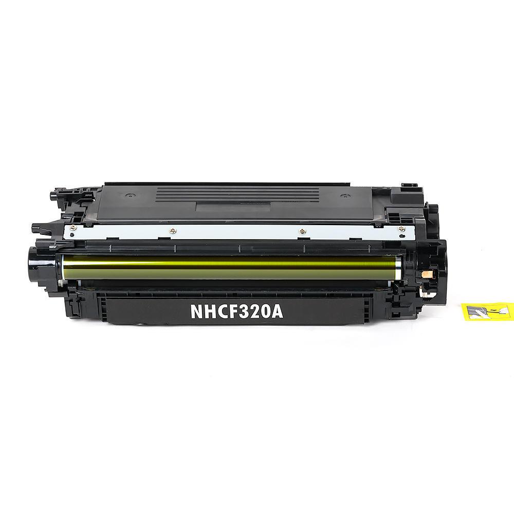 Compatible HP 652A CF320A Black Toner Cartridge