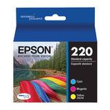 Epson T220520 Original Color Ink Cartridge Combo C/M/Y