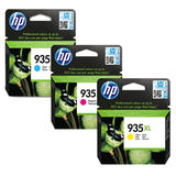 HP 935XL Original Color Ink Cartridge Combo High Yield C/M/Y