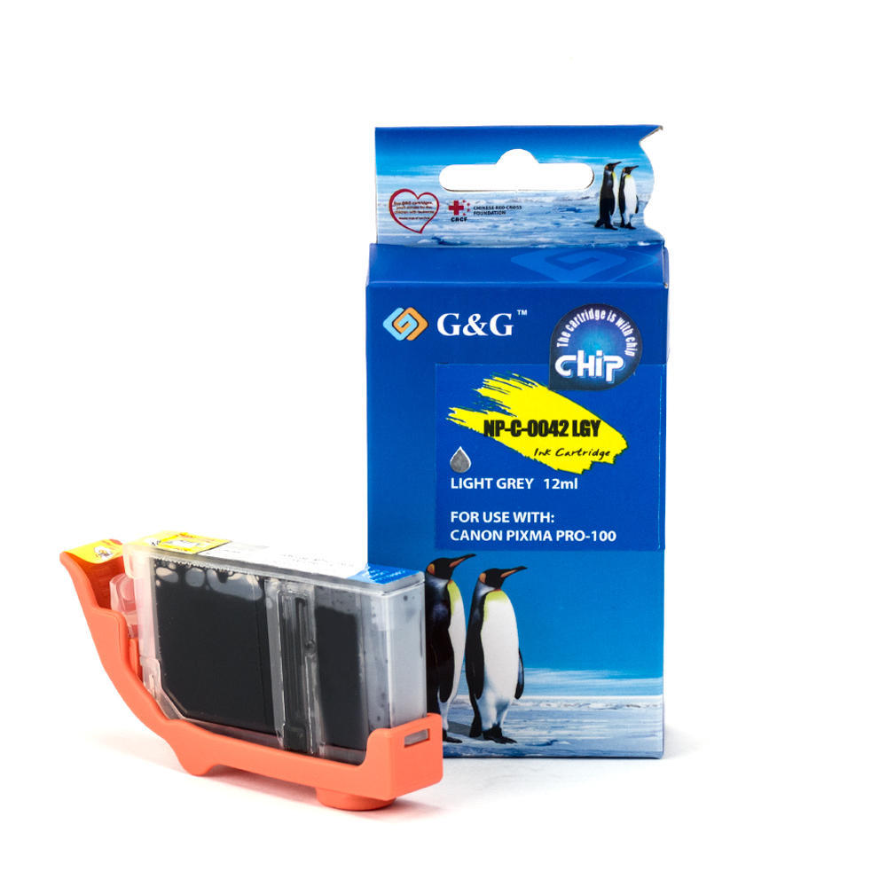 Canon CLI-42LGY 6391B002 Compatible Light Gray Ink Cartridge – G&G