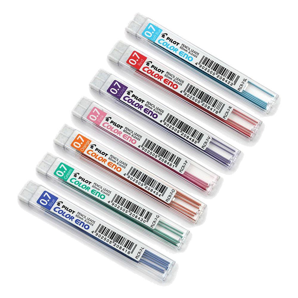Liquid Lead Pencil Pilotar Plcr 7 Color Eno 07mm Mechanical Pencil Leads