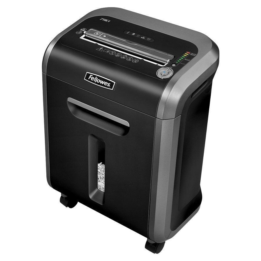 Fellowes Powershred 79Ci 16-Sheet 100% Jam Proof Cross-Cut Shredder Machine for Office
