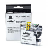 Brother LC203BK Compatible Black Ink Cartridge High Yield - Moustache®