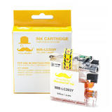 Brother LC203Y Compatible Yellow Ink Cartridge High Yield - Moustache®