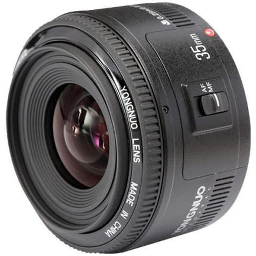 YONGNUO YN 35mm Wide-Angle F 2 Large Aperture Auto Focus Lens For Canon