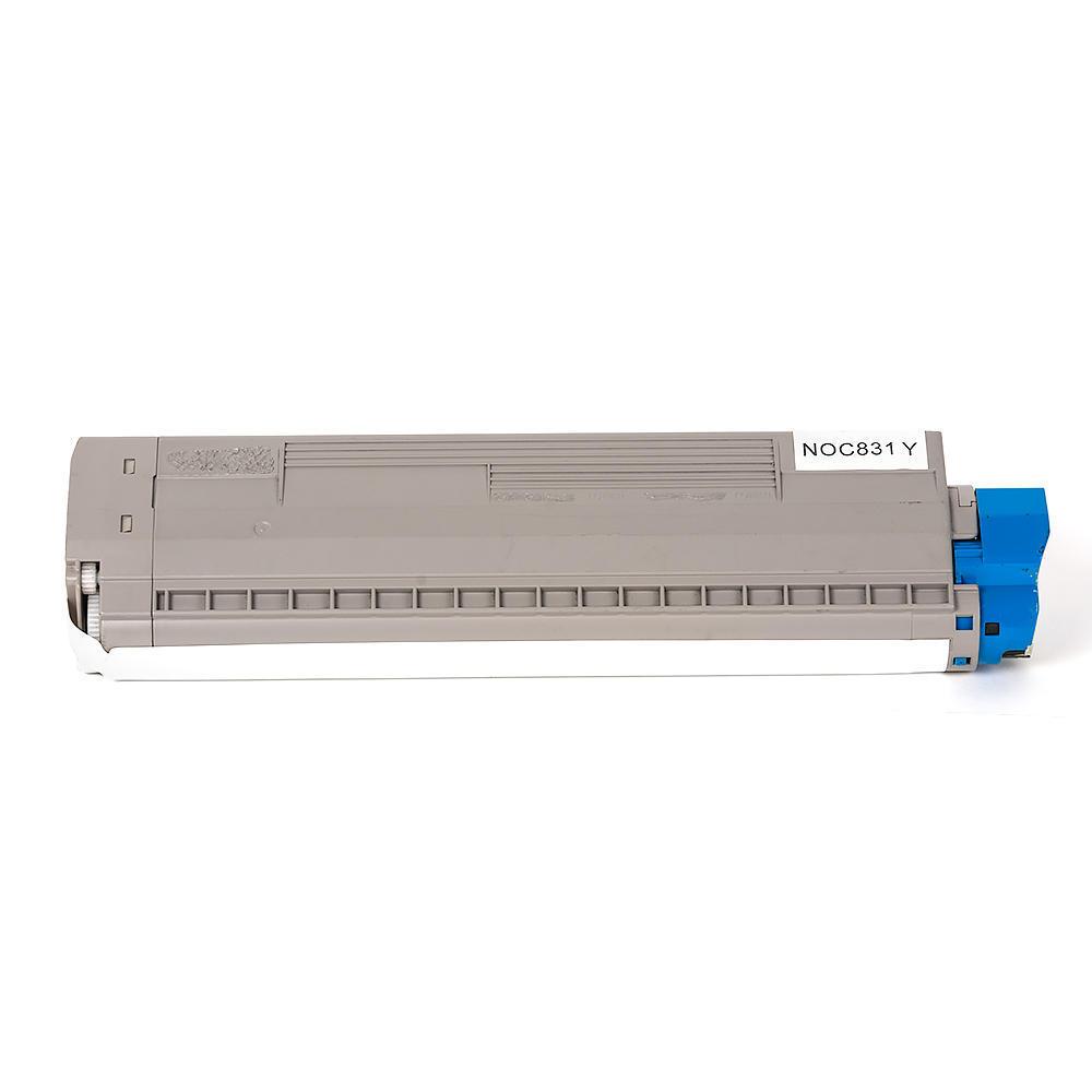 Okidata C831 44844509 Compatible Yellow Toner Cartridge