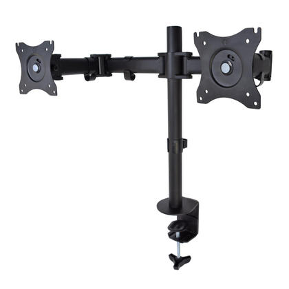 Dual LCD monitor desk mount heavy duty fully adjustable fits two