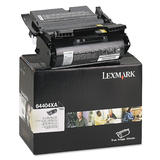 Lexmark T644 64404XA Original Black Toner Cartridge High Yield