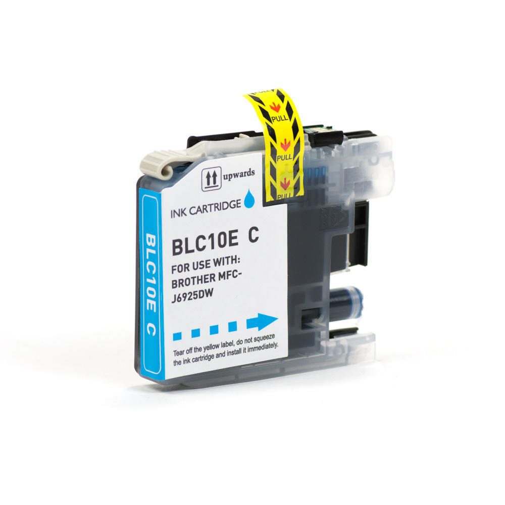 Brother LC10EC Compatible Cyan Ink Cartridge Extra High