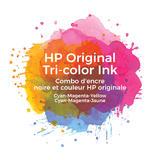 HP 63XL F6U63AN Original Tri-Color Ink Cartridge High Yield