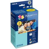 Epson T5845-M Original Photo Ink Cartridge and Photo Paper Combo for PictureMate 200 Series Printer