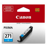 Canon CLI-271C Original Cyan Ink Cartridge (0391C001AA)