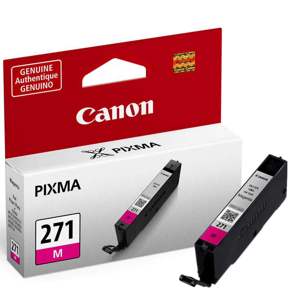 Canon CLI 271M 0392C001 Original Magenta Ink Cartridge At