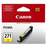 Canon CLI-271Y Original Yellow Ink Cartridge (0393C001AA)