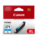 Canon CLI-271XLC Original Cyan Ink Cartridge High Yield (0337C001AA)