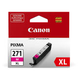 Canon CLI-271XLM Original Magenta Ink Cartridge High Yield (0338C001AA)