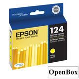 Epson T124420 Original Yellow Ink Cartridge - Open Box
