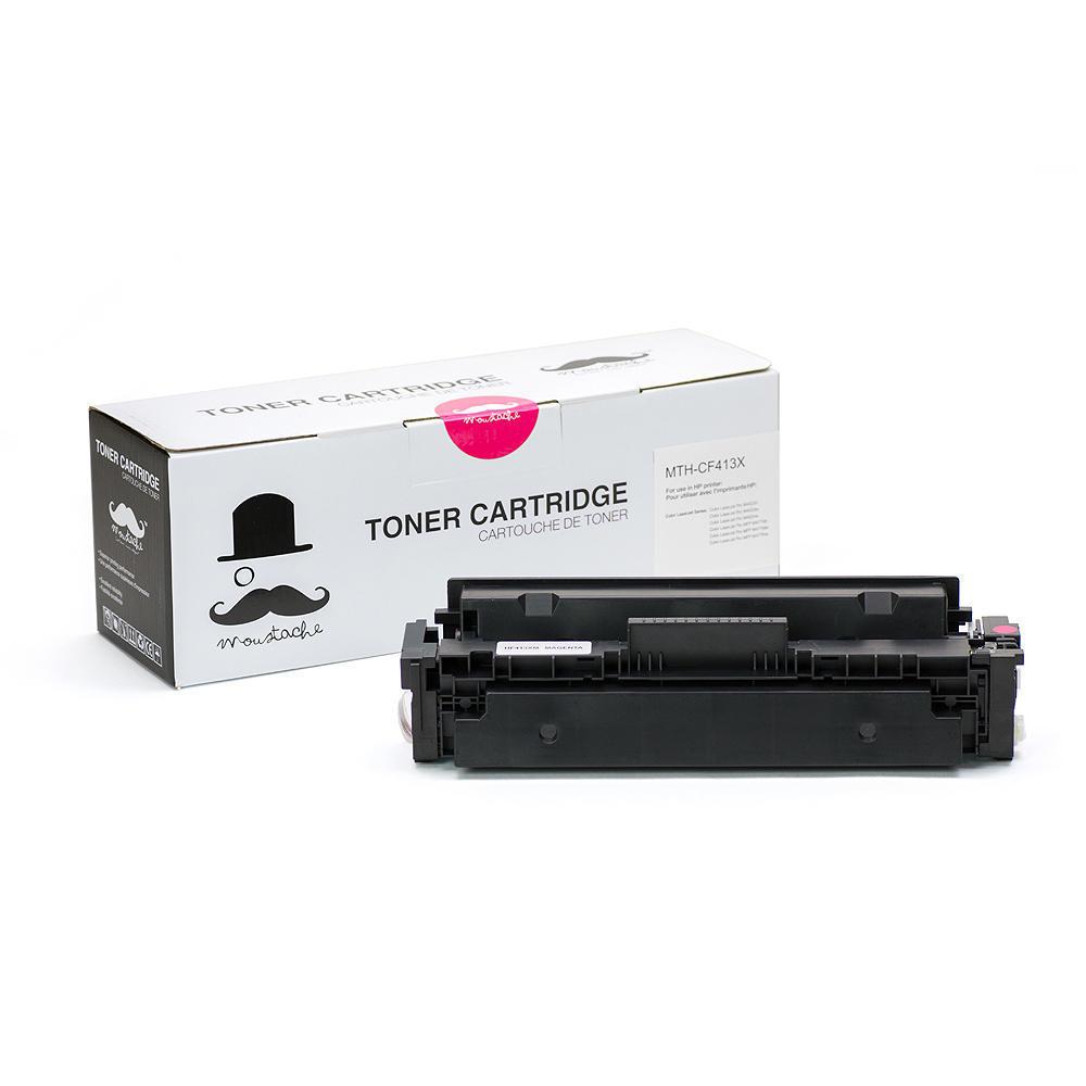Compatible HP 410X CF413X Magenta Toner Cartridge High Yield - Moustache®