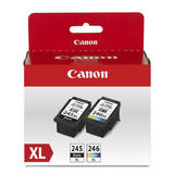 Canon PG245XL CL246XL Original Ink Cartridge Black and Color Combo (8278B006)