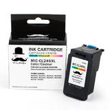 Canon CL246XL Remanufactured Color Ink Cartridge (8280B001AA) - Moustache®