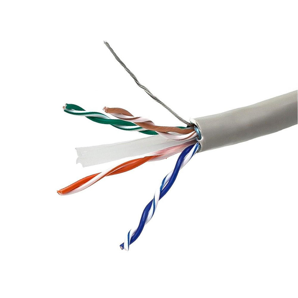 Cat6 23AWG STP Solid Bulk Cable, CM-Rated, 500ft – Monoprice