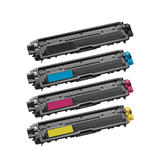 Brother TN221 TN225 Compatible Toner Cartridge Combo BK/C/M/Y - Economical Box