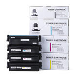 Compatible HP 410X Toner Cartridge Combo BK/C/M/Y High Yield - Moustache®