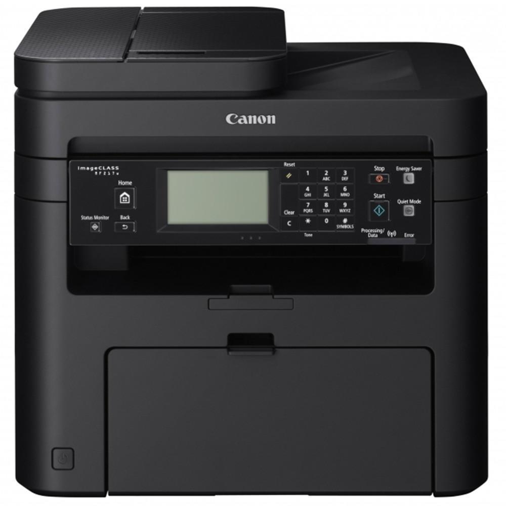 Canon imageCLASS MF217W Black & White Laser Multifunction Printer With Fax