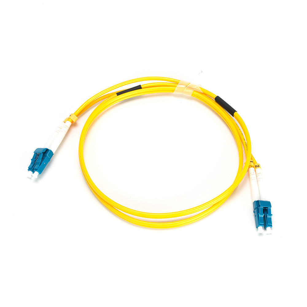 Fiber Optic Cable, LC LC, Single Mode, Duplex 1 Meter (9 125 Type) – Yellow – Primecables