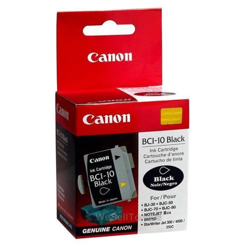 Canon Bci 10 Original Black Ink Cartridge