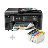 Buy Epson WorkForce WF-3620 All-in-One Inkjet Printer Get One T252XL Ink Cartridge Value Pack Free